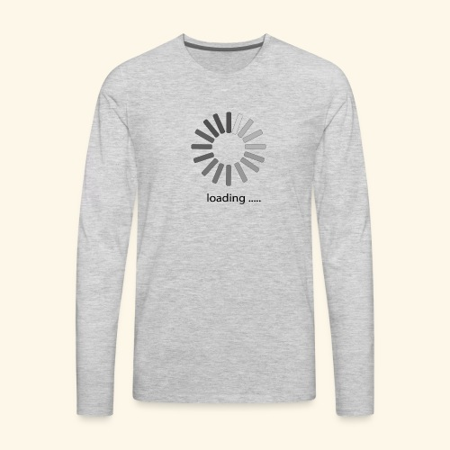 poster 1 loading - Men's Premium Long Sleeve T-Shirt