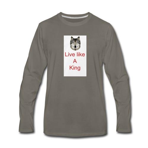 6EE52758 4074 4452 BF05 FCD02F511EF3 - Men's Premium Long Sleeve T-Shirt