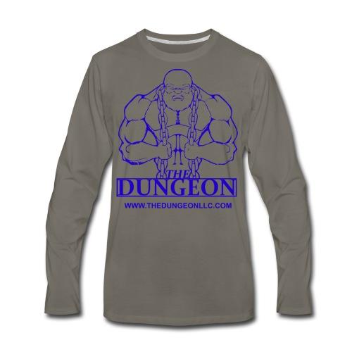 Dungeon Blue - Men's Premium Long Sleeve T-Shirt