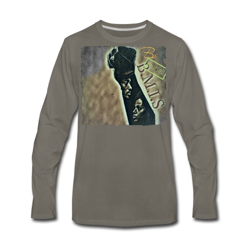 Bmis be yourself - Men's Premium Long Sleeve T-Shirt