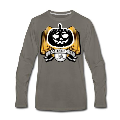 Samhain 2017 Logo shirt - Men's Premium Long Sleeve T-Shirt