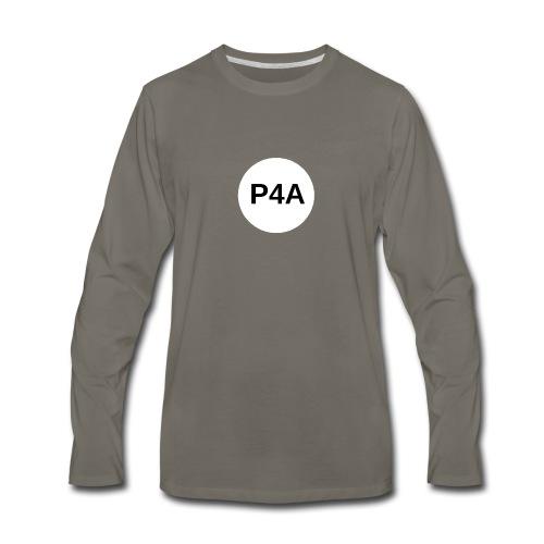 16-white-circle-magnet-board_-1- - Men's Premium Long Sleeve T-Shirt