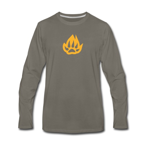 paw T-shirts - Men's Premium Long Sleeve T-Shirt