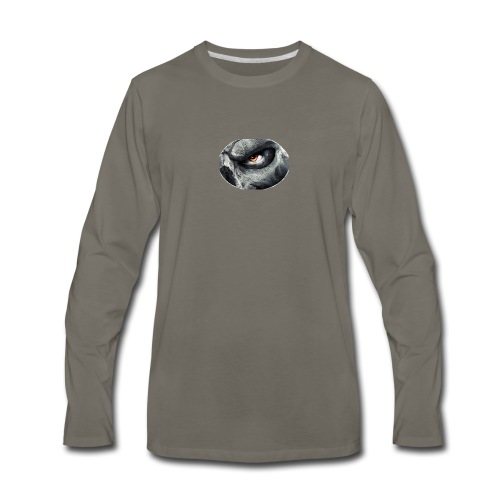 Shirt Logo - Men's Premium Long Sleeve T-Shirt
