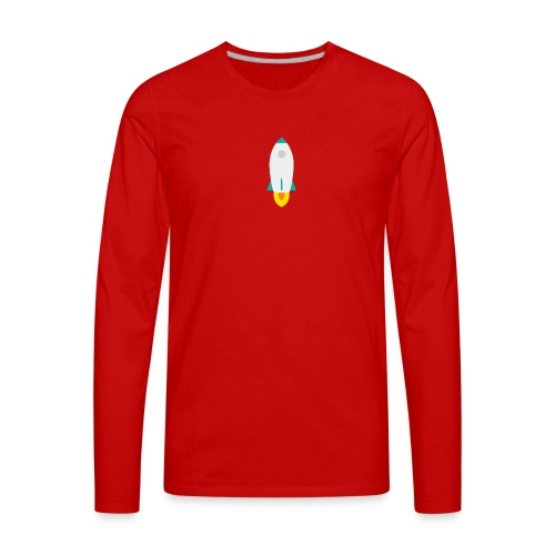 rocket - Men's Premium Long Sleeve T-Shirt