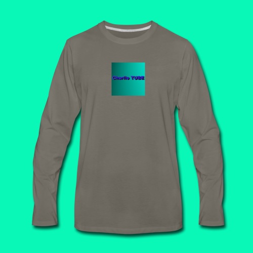 Charlie TUBE - Men's Premium Long Sleeve T-Shirt