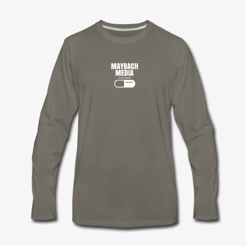 maybachmediakindof - Men's Premium Long Sleeve T-Shirt