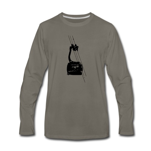 Ski Tram - Men's Premium Long Sleeve T-Shirt