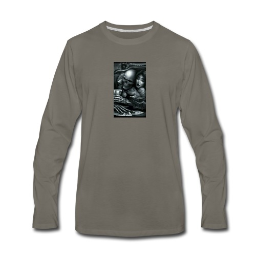 In love with the game - Men's Premium Long Sleeve T-Shirt