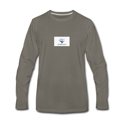 Charity Logo - Men's Premium Long Sleeve T-Shirt