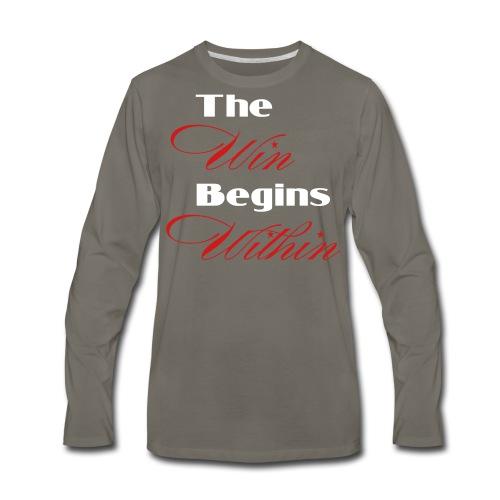 Winner's Apparel - Men's Premium Long Sleeve T-Shirt