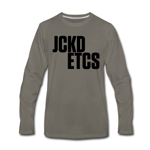 JE_BACK - Men's Premium Long Sleeve T-Shirt