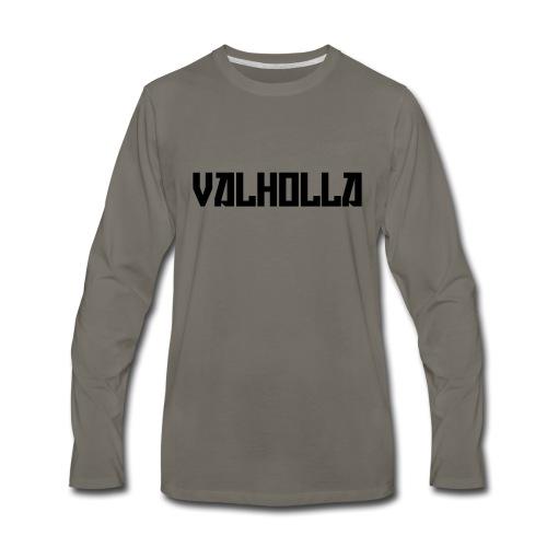 valholla futureprint - Men's Premium Long Sleeve T-Shirt