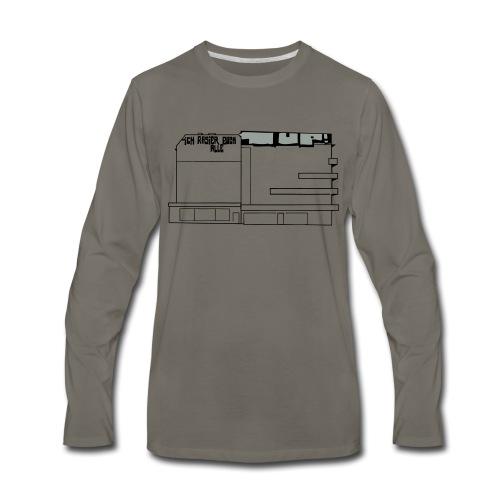 Graffiti at Hermannplatz - Men's Premium Long Sleeve T-Shirt