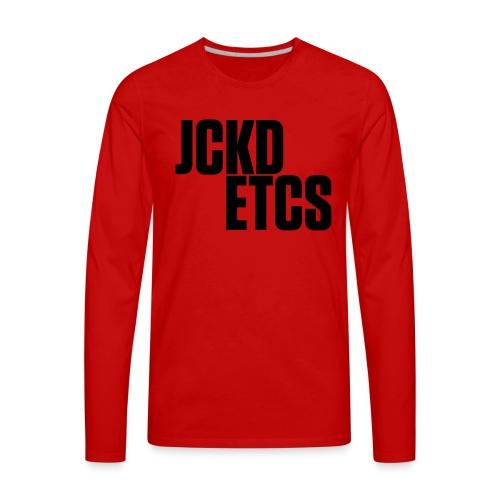 JE_BACK - Men's Premium Long Sleeve T-Shirt