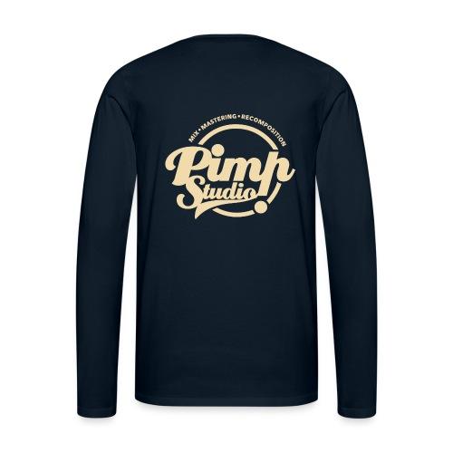 PIMP STUDIO gold - Men's Premium Long Sleeve T-Shirt