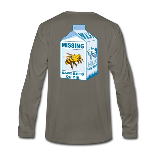 Missing Bees - Men's Premium Long Sleeve T-Shirt