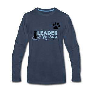 RescueDogs101 Leader of My Pack - Men's Premium Long Sleeve T-Shirt