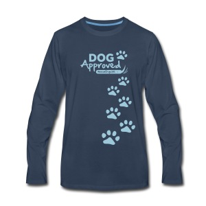 RescueDogs101 Dog Approved - Men's Premium Long Sleeve T-Shirt