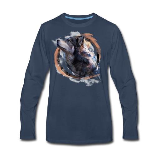 Heart of the Mountains - Men's Premium Long Sleeve T-Shirt