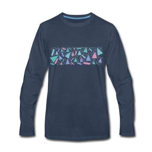 90s Pattern - Men's Premium Long Sleeve T-Shirt