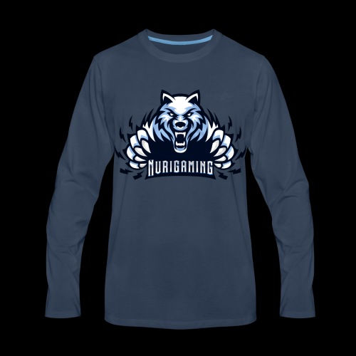 NuriGaming🐺 - Men's Premium Long Sleeve T-Shirt