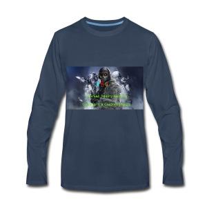 Cracked Reality Gaming Logo - Men's Premium Long Sleeve T-Shirt