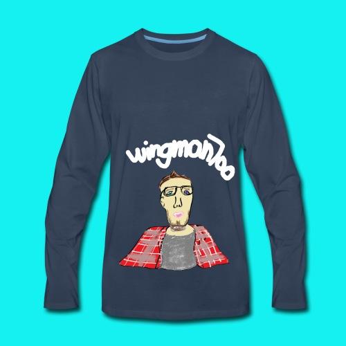 WingStroke - Men's Premium Long Sleeve T-Shirt