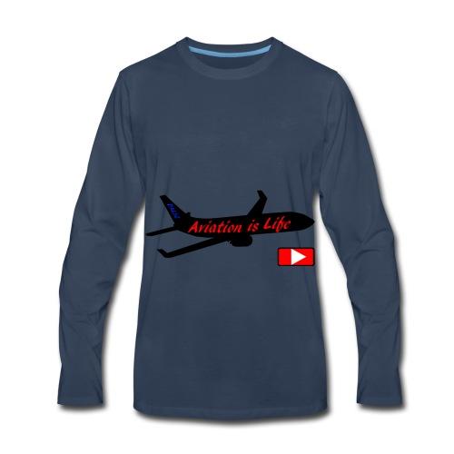 Aviation is life - Men's Premium Long Sleeve T-Shirt