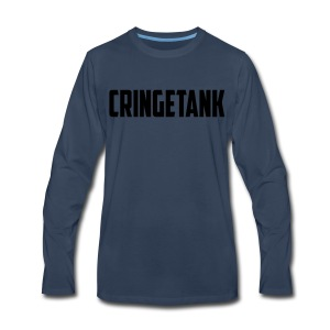 CringeTank Logo - Men's Premium Long Sleeve T-Shirt