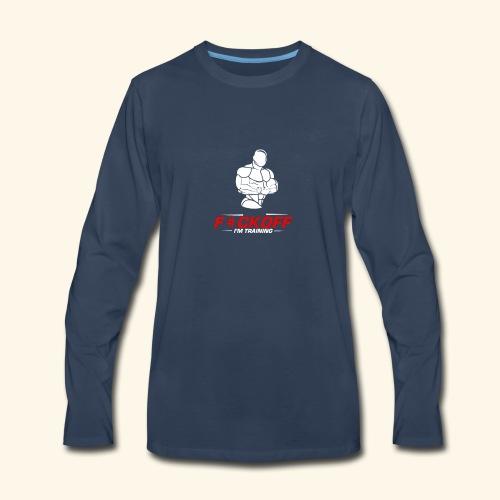gymjunckie2 - Men's Premium Long Sleeve T-Shirt
