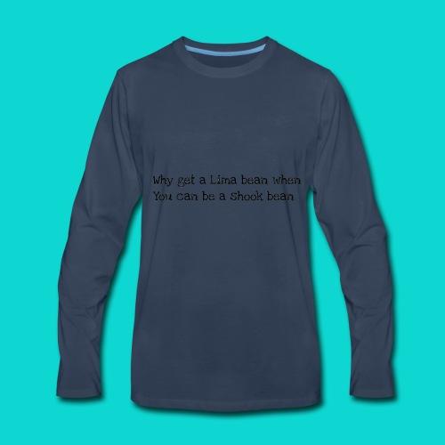 Shookbeans! - Men's Premium Long Sleeve T-Shirt