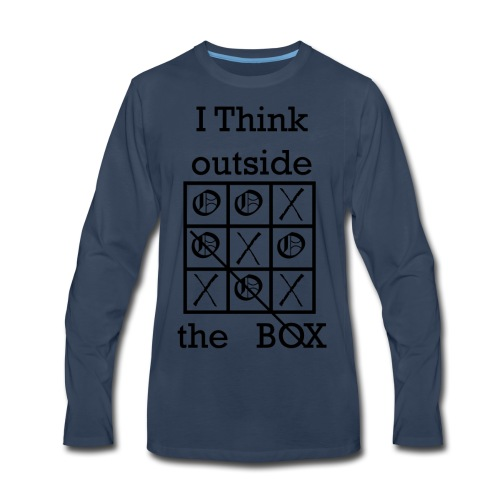 Tic Tac Toe - Men's Premium Long Sleeve T-Shirt