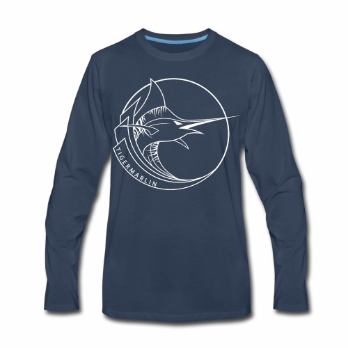 TigerMarlin Logo - Men's Premium Long Sleeve T-Shirt