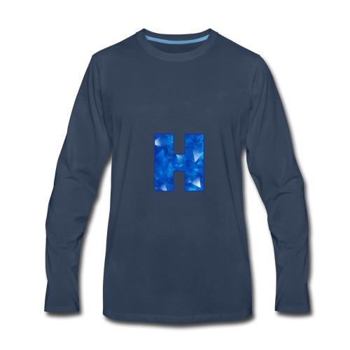 XxHaunter Logo - Men's Premium Long Sleeve T-Shirt