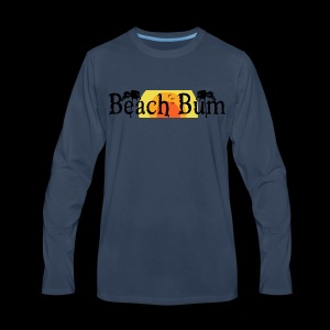 BeachBumlogowithTREES - Men's Premium Long Sleeve T-Shirt
