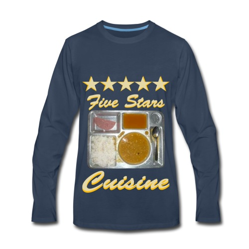 5 Stars Cuisine - Men's Premium Long Sleeve T-Shirt