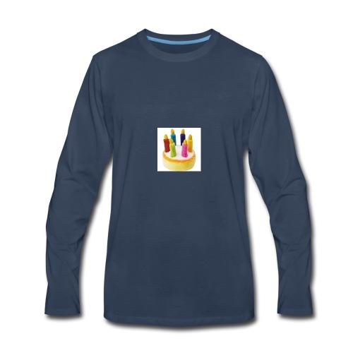 Cake Gaming logo - Men's Premium Long Sleeve T-Shirt