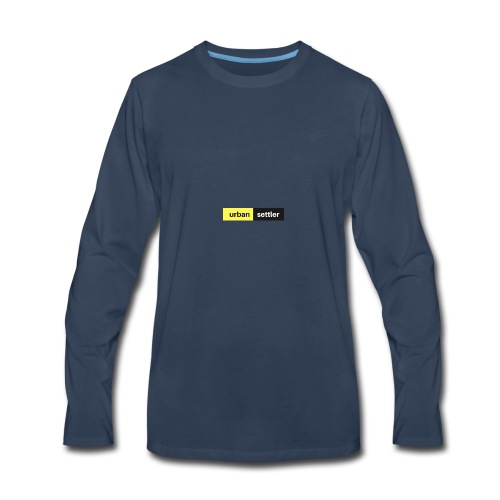 urban settler - Men's Premium Long Sleeve T-Shirt