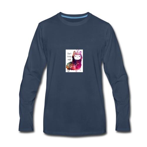Believe in Magic Llamacorn - Men's Premium Long Sleeve T-Shirt