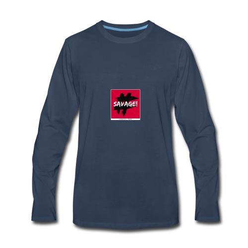 brandonnev logo - Men's Premium Long Sleeve T-Shirt