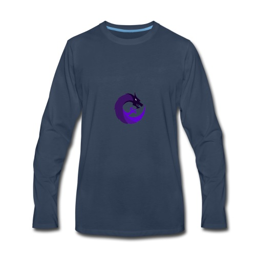 Simple Entropy Logo - Men's Premium Long Sleeve T-Shirt