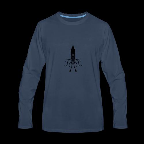 squid ink - Men's Premium Long Sleeve T-Shirt