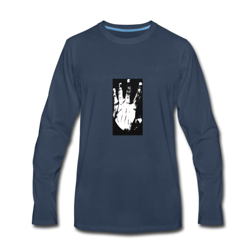 Xxxtentacion kill hand - Men's Premium Long Sleeve T-Shirt