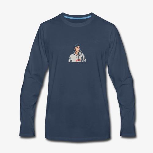 Faded Bizzle - Men's Premium Long Sleeve T-Shirt