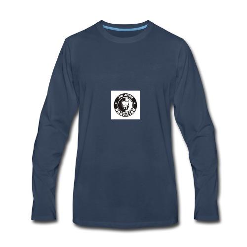 74a12c576b00f2875ab2ccbfda5c485e brazilian jiu ji - Men's Premium Long Sleeve T-Shirt