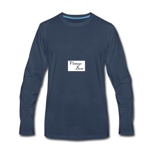 Vintage - Men's Premium Long Sleeve T-Shirt