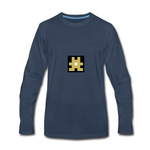 YELLOW hashtag - Men's Premium Long Sleeve T-Shirt