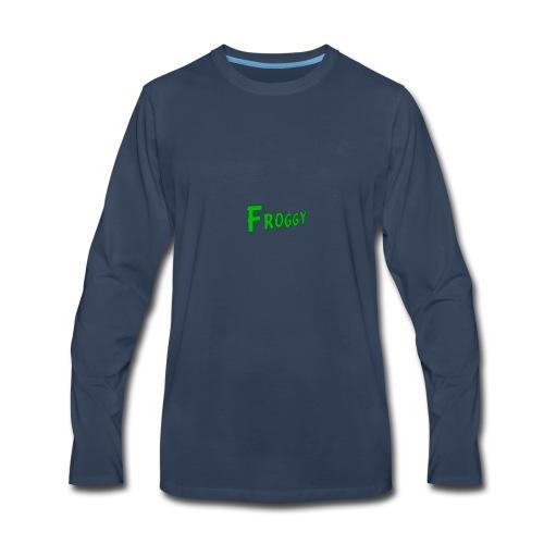 FROGGY - Men's Premium Long Sleeve T-Shirt