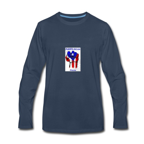 2196b2dd4c9fc916b2008e70219c0a3c puerto rican rec - Men's Premium Long Sleeve T-Shirt